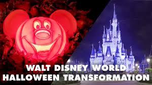 walt disney world halloween transformation disney youtube