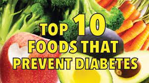top 10 foods that prevent diabetes