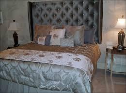 Grey Upholstered Headboard Bedroom Amazing King Size Fabric Headboard Leather Headboard Bed