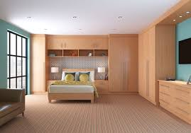 Bedroom Modern Fitted Bedroom Furniture With Wardrobes Around Bed - Fitted bedroom furniture