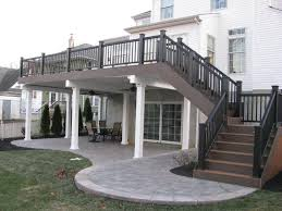 how to build a two story house 23 amazing covered deck ideas to inspire you check it out