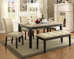 Marble And Wood Dining Table Dining And Living Room Inspiration American Freight Furniture Blog