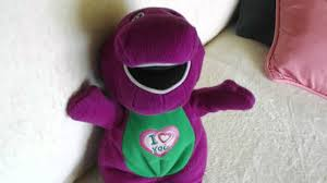 barney sings doll youtube