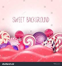 pink halloween background free candy pink land backgroundvector stock vector 351740984 shutterstock