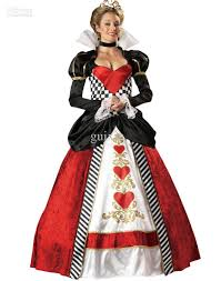 dresses for halloween halloween costumes for womens cosplay premier queen of hearts