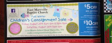 coupons for local fall consignment sales thrifty christy coupons