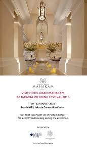 wedding gift jakarta jakarta wedding festival 2016 by hotel gran mahakam bridestory