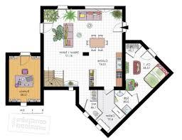 plan maison contemporaine plain pied 3 chambres plan maison 3 chambre dcoration plan maison moderne gratuit pdf