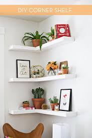 kitchen corner shelves ideas best 25 floating corner shelves ideas on corner