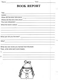 book report template 4th grade 4th grade book report template essay on how academics can seek