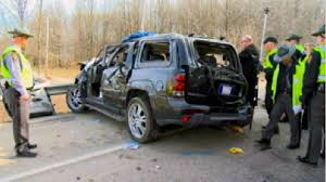 crashed jeep liberty nyc corrections officer u0027s 2 young children killed in ohio crash