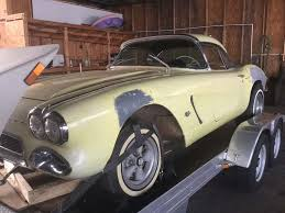 1962 corvette for sale craigslist corvettes on ebay barn find 1962 corvette big brake fuelie