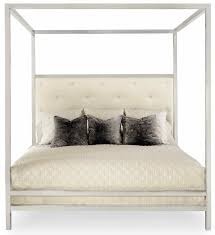 Metal Canopy Bed by Aria Metal Poster Bed U2013 Mortise U0026 Tenon