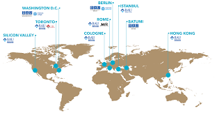 Ces Map Bau International University Batumi Bau Global