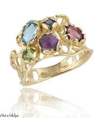 color gemstone rings images Multi color gemstone rings neta wolpe jpg