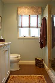 small bathroom window curtain home
