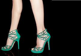 wedding shoes green green with crystals wedding shoes