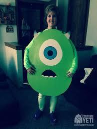 monsters inc costumes handmade mike wazowski costume from monsters inc costume yeti