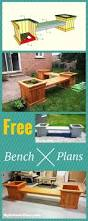 Diy Patio Furniture Plans Best 25 Wood Bench Plans Ideas That You Will Like On Pinterest