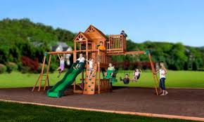 Small Backyard Swing Sets by Wooden Swing Sets Playhouses Outdoor Playsets Backyard Discovery