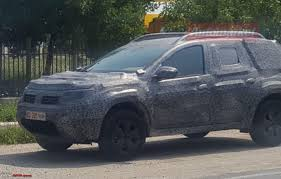 renault duster 2019 next generation renault dacia duster caught testing page 3