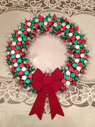 hershey kiss wreath holiday crafts pinterest wreaths