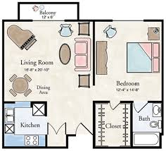 one bedroom floor plans independent living one bedroom apartment floor plans larksfield place