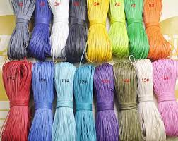 colored necklace cords images Color cord etsy jpg