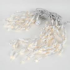 pro grade connect 5 white wire icicle lights medium drops