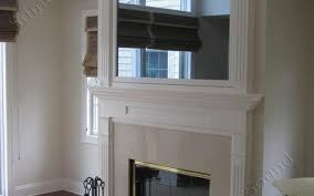 alternative tv over fireplace stovers