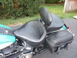 mustang touring seat mustang wide touring seats with backrest harley davidson forums
