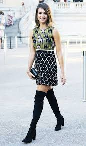 dresses with boots 25 ways to style dresses with boots 2018 fashiontasty