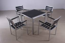 Plastic Table And Chairs Aluminum Drawing Plastic Table And Chairs Courtyard Villas Table