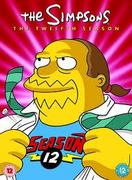 the simpsons the simpsons season 12 complete dvd amazon co uk dan