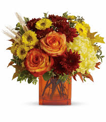 autumn flower delivery in lakeville roaring oaks florist