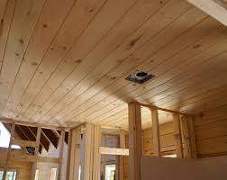 tongue and groove ceiling planks diy knotty pine tongue and