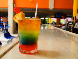 rainbow cocktail drink shark bite cocktail this colorful cocktail may not be uniq u2026 flickr