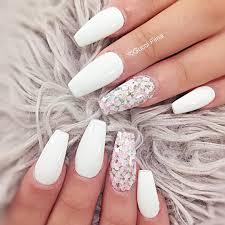 50 white nail art ideas diamond stone stone and diamond