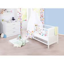 chambre bébé laqué blanc chambre bébé viktoria blanc laqué pinolino acheter sur greenweez com