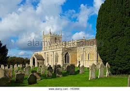 Blue Barns Hardingstone England Northamptonshire Village Churchyard Stock Photos U0026 England