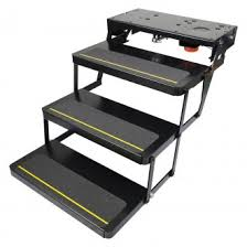 rv steps electric manual steps u0026 stools u2014 carid com