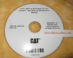 sebu8020 cat caterpillar 277c 287c 297c loader operation