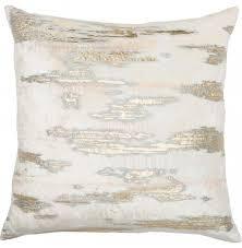 max studio home decorative pillow metallic pillows accessories