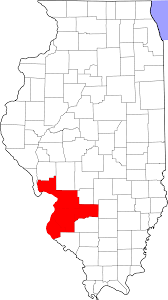 Maps Of Illinois by File Map Of Illinois Highlighting Metro East Svg Wikimedia Commons