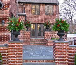 Brick Stairs Design Red Brick Stairs Houzz