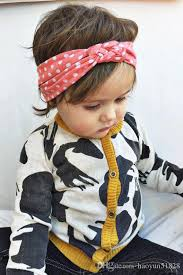 baby headwrap fashion baby top knot headbands baby headwrap polka dot