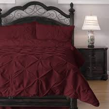 Red King Size Comforter Sets Red Pinch Pleat Comforter Set U2013 Ease Bedding With Style