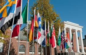 Deleware Flag International Students University Of Delaware