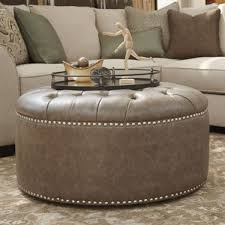 Ashley Furniture Wilcot Oversized Accent Ottoman in Gray