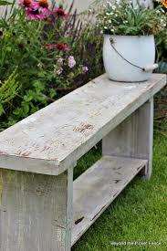 Cool Garden Bench Best 25 Garden Benches Ideas On Pinterest Within Bench Ideas
